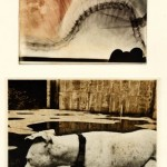 Nancy Diessner, Second Elegy, photopolymer etching (using Toyobo Printight plates), two plates, printed a la poupe.